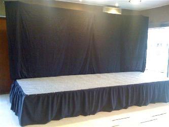 Alquiler de tarimas Alquiler de escenarios